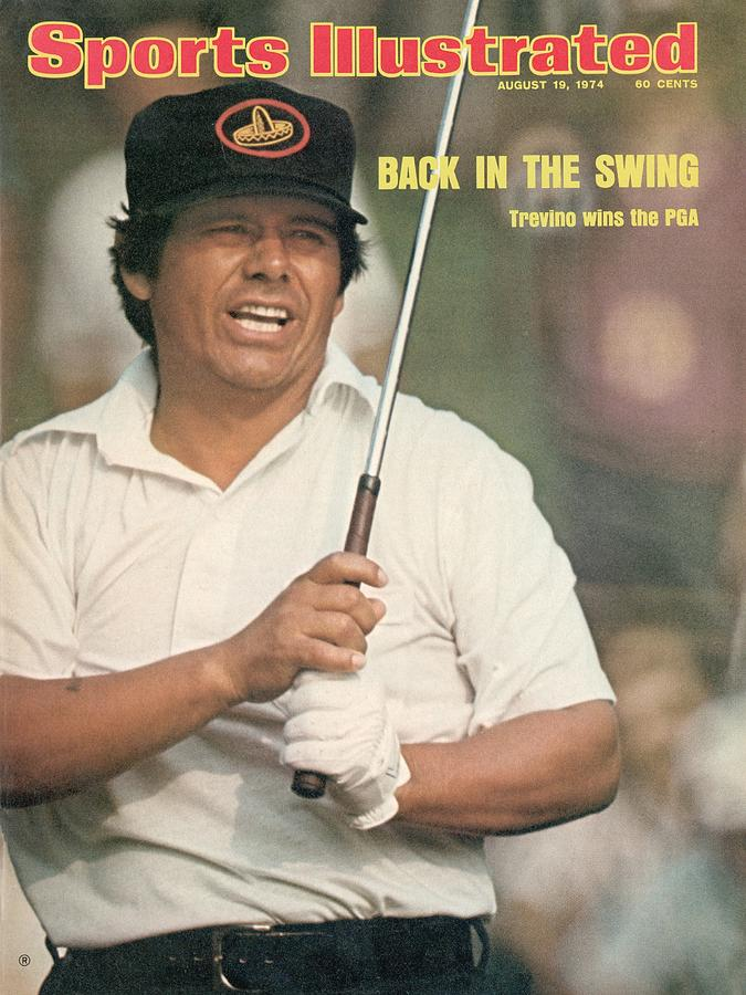 Lee Trevino, 1974 Pga Championship Sports Illustrated Cover Photograph by Sports Illustrated