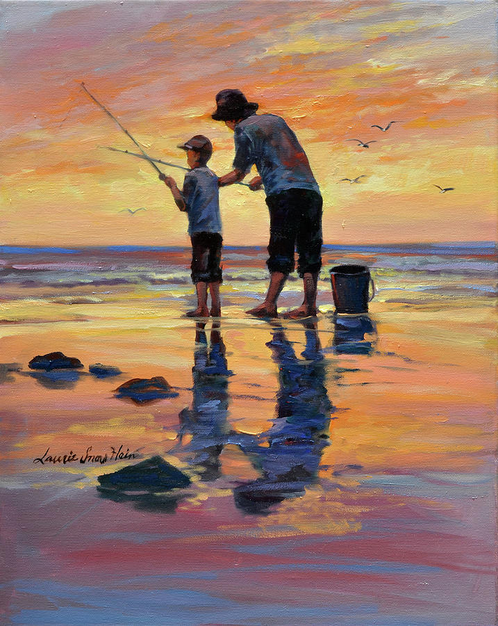 Omaž ribolovcu i ribolovu - Page 13 Legacy-lesson-dad-and-son-fishing-laurie-snow-hein