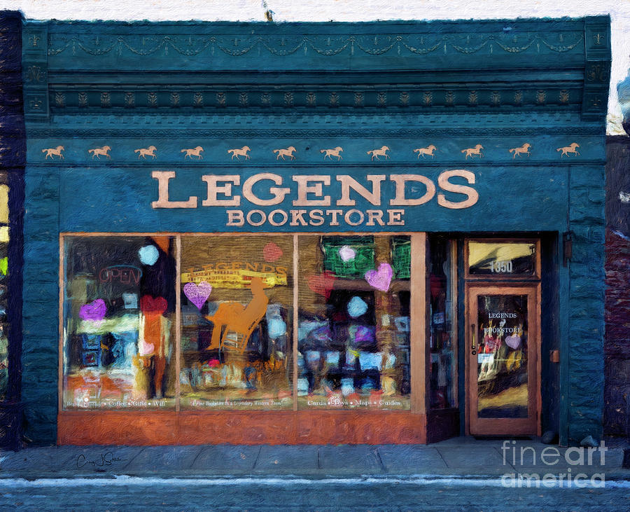 Legends Bookstore by Craig J Satterlee