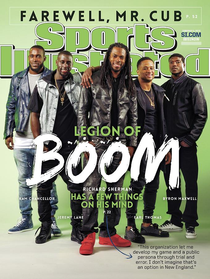 Legion Of Boom, Super Bowl Xlix Preview Sports Illustrated Cover Photograph by Sports Illustrated