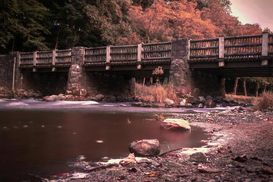 Lehigh Parkway Robin Hood Bridge - Impressionism by Jason Fink