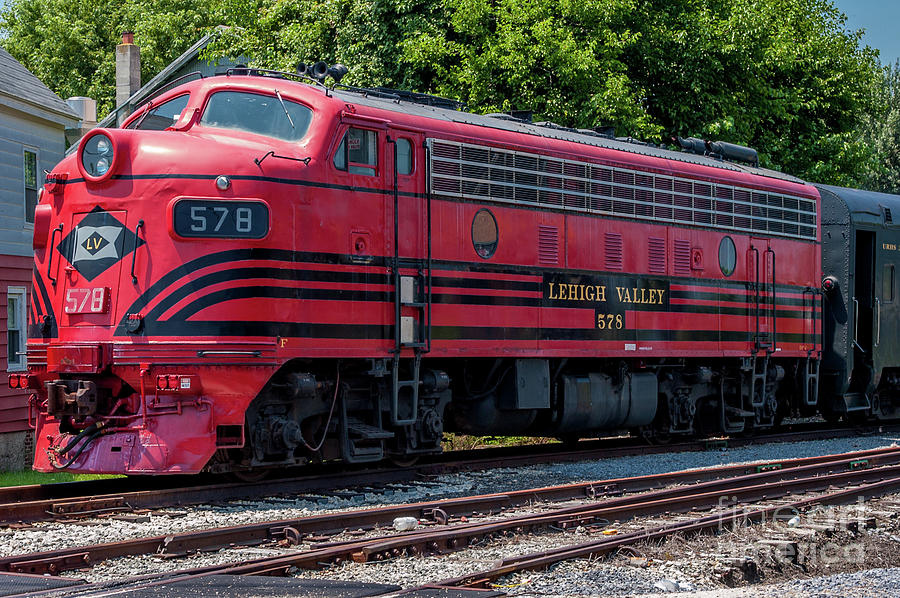 Lehigh Valley 578 by Anthony Sacco