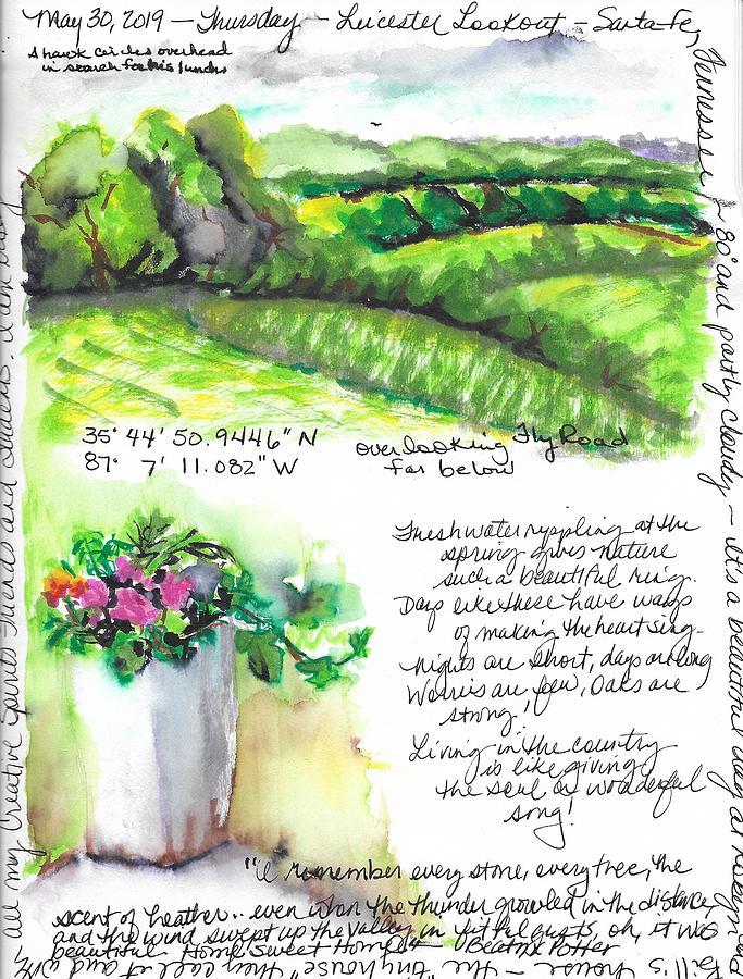 Leicester Lookout by Susan Elizabeth Jones