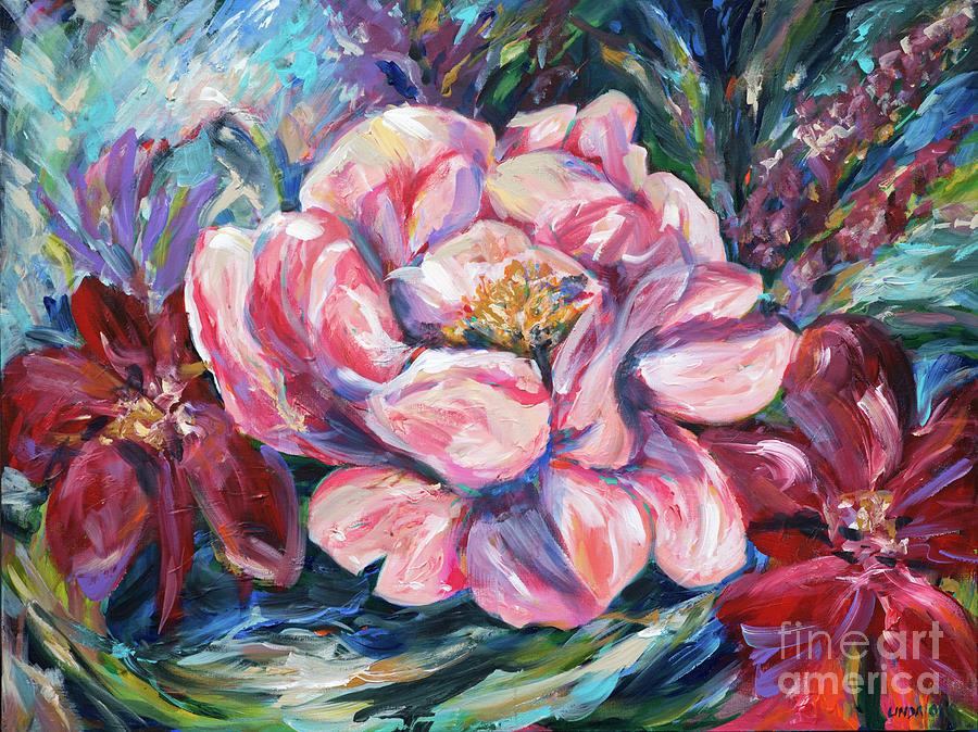 Leigh Anne Floral by Linda Olsen