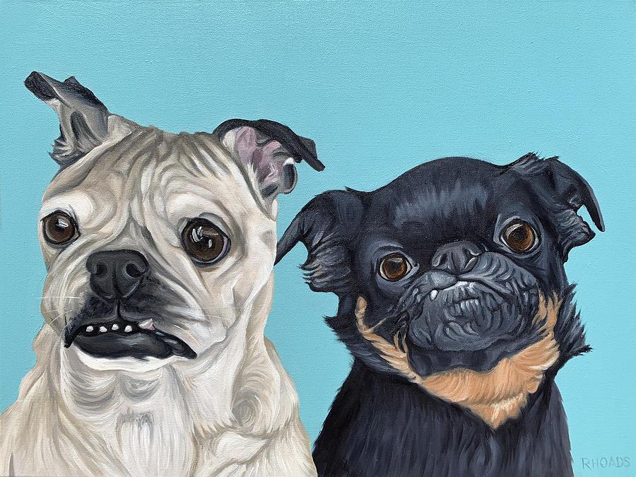 Lelo and Stitch by Nathan Rhoads