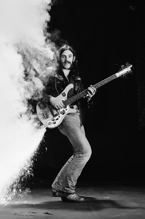 Singer Photograph - Lemmy Kilmister by Fin Costello
