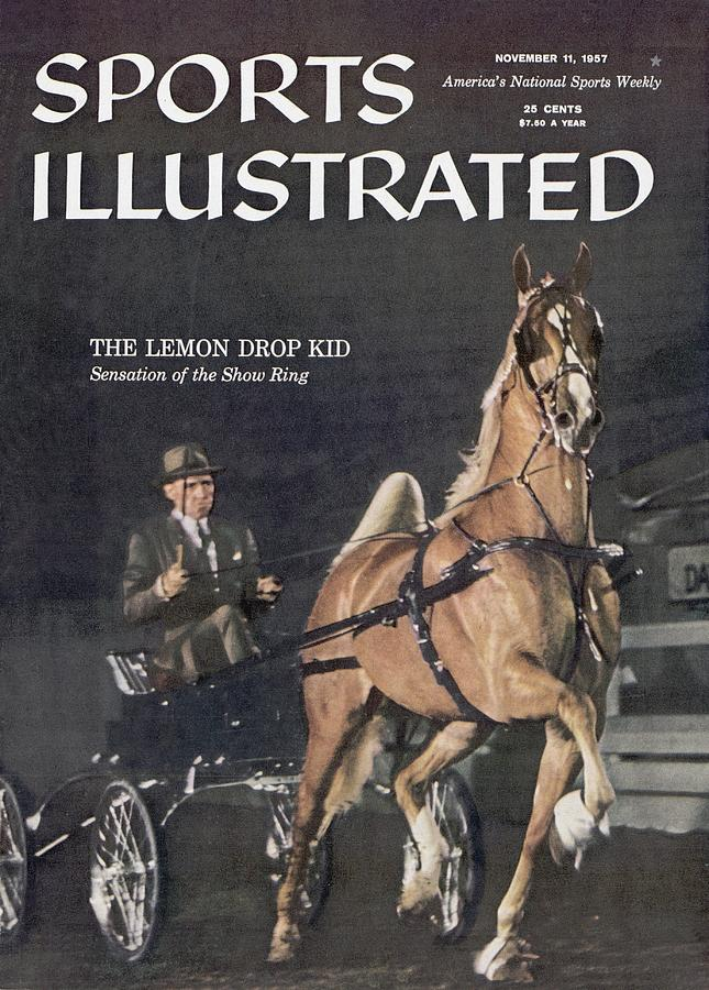 Lemon Drop Kid, 1957 Kentucky State Fair Horse Show Sports Illustrated Cover Photograph by Sports Illustrated