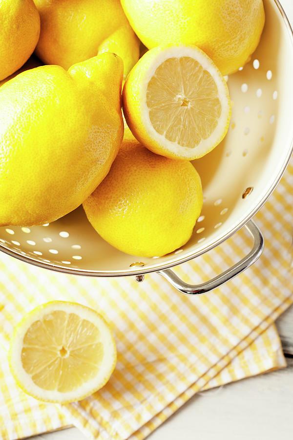 Lemon Photograph by Gmvozd