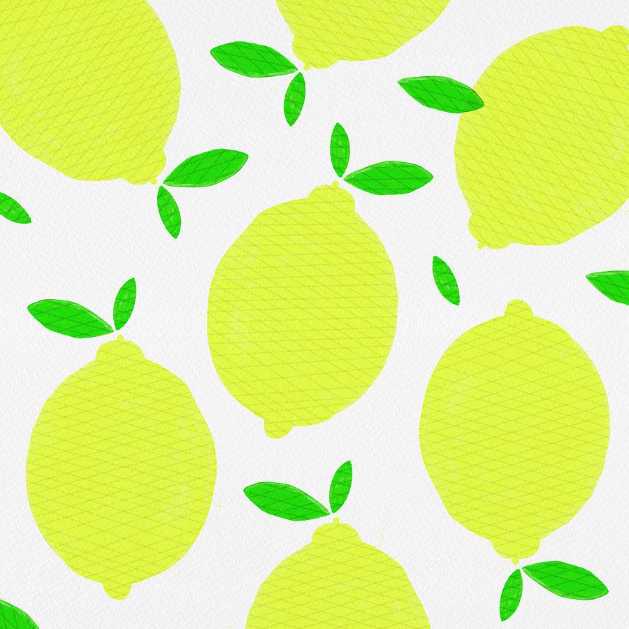 Sunny Lemon Pattern by Jen Montgomery
