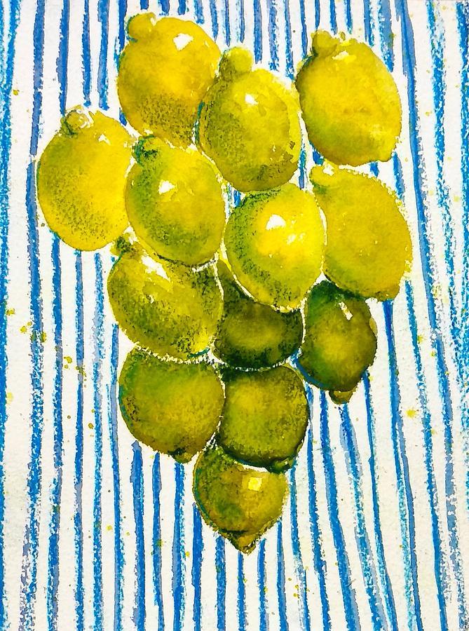 Lemon rain by Asha Sudhaker Shenoy