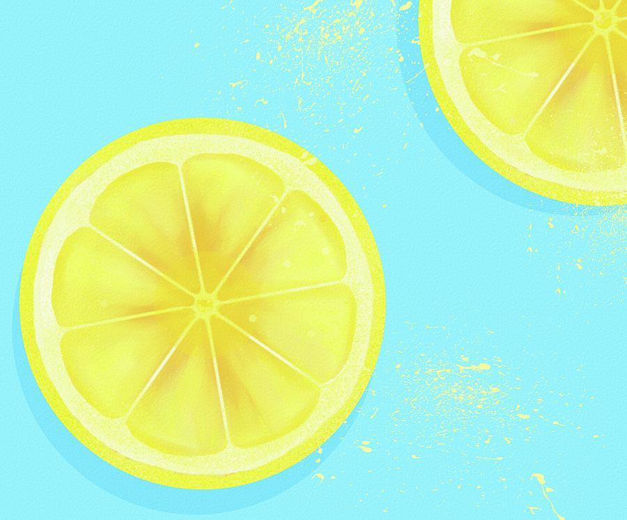 Lemon Splash 1 by Joe Gilronan