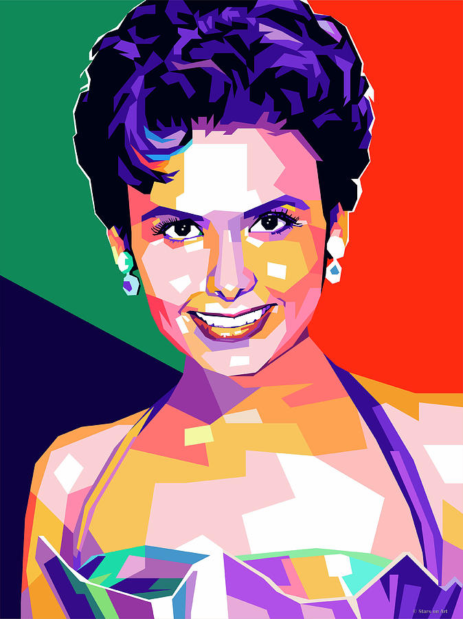 Lena Horne by Stars on Art