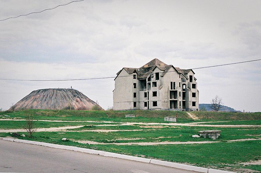 Leninske, Gorlowka, Mining Town Photograph by Ross Mcross