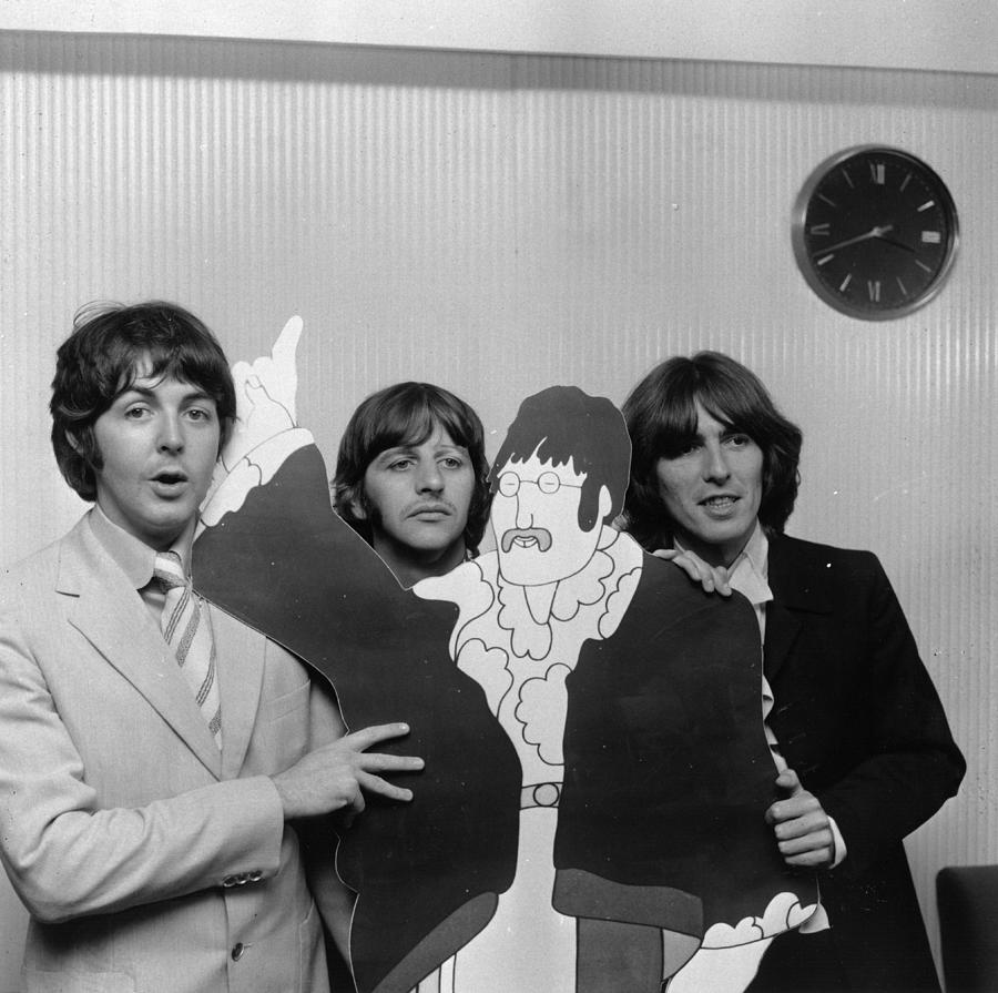 Lennon Cut-out Photograph by Wesley