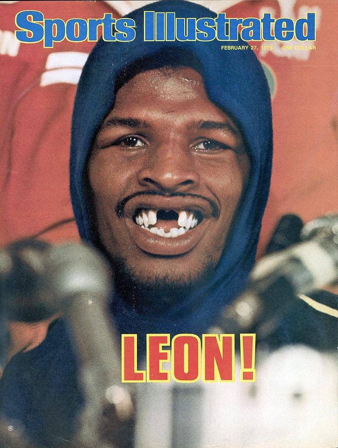 Leon Spinks, 1978 Wbcwba Heavyweight Title Sports Illustrated Cover Photograph by Sports Illustrated