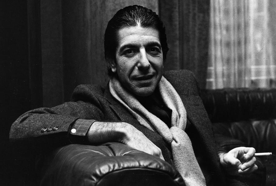 Leonard Cohen Photograph by Evening Standard
