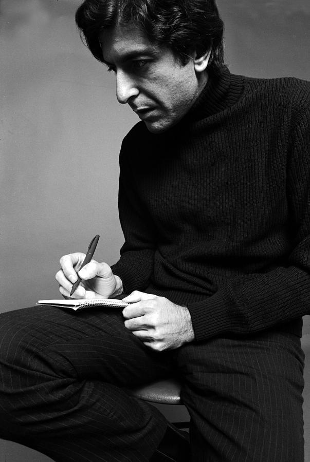 Leonard Cohen Photograph by Jack Robinson