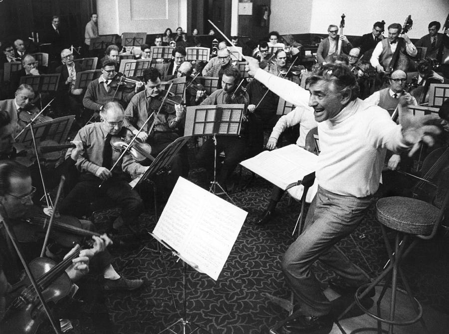 Leonard Conducts Photograph by Ian Showell