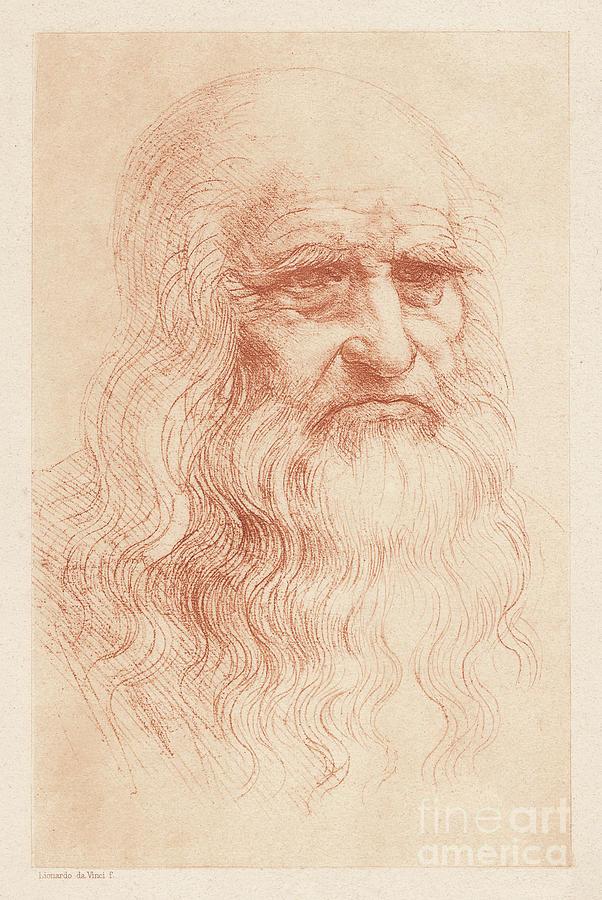 Leonardo Da Vinci 1452-1519, Italian Digital Art by Zu 09