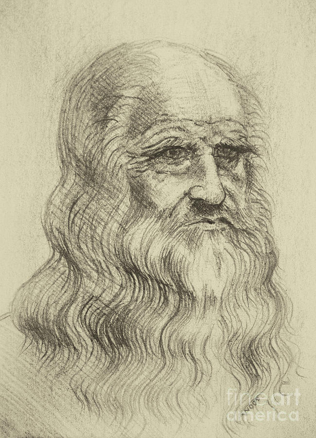 Leonardo Da Vinci by George Wood by Karen Adams