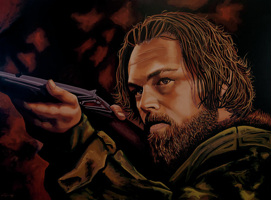 Leonardo DiCaprio Painting by Paul Meijering