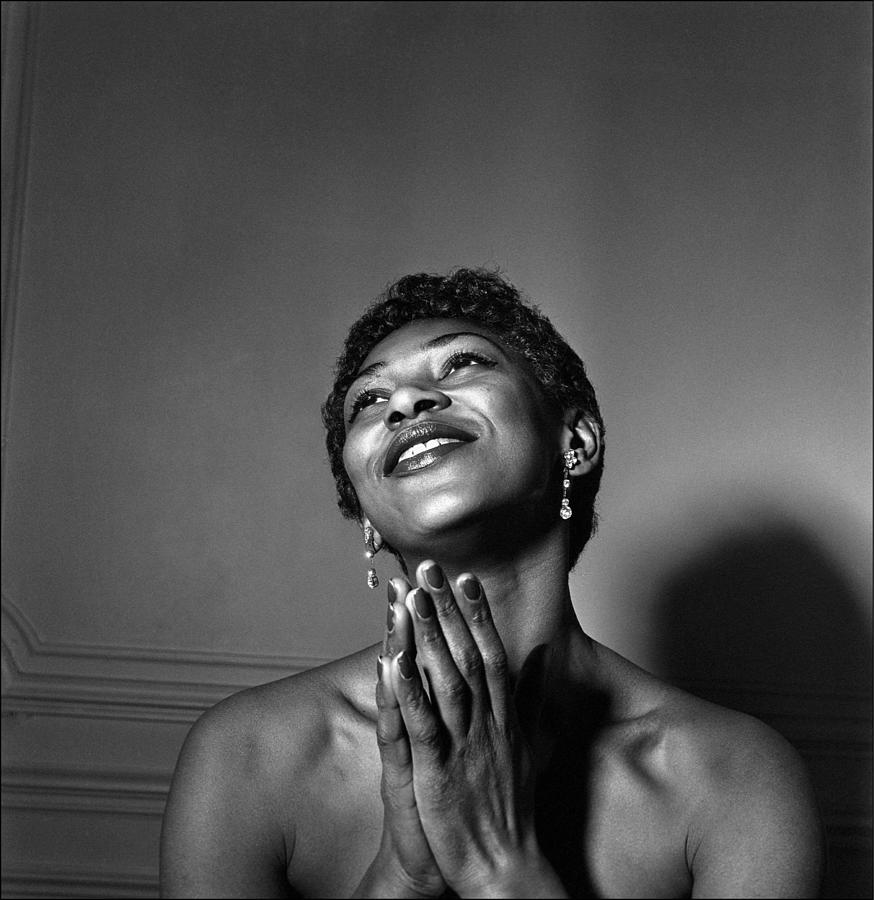 Leontyne Price Photograph by Reporters Associes