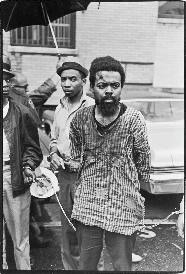 Leroi Jones Arrested At Newark Riots Photograph by Fred W. McDarrah