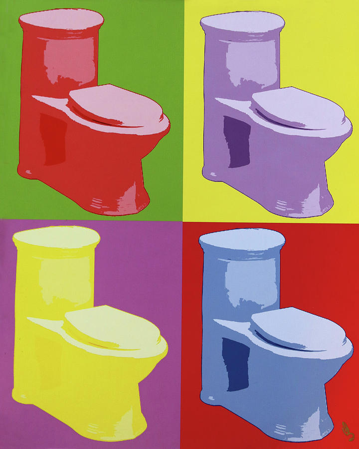 Les Toilettes  by Deborah Boyd