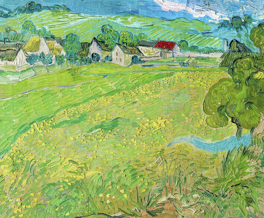 Vincent Van Gogh Painting - Les Vessenots En Auvers, 1890 by Vincent van Gogh
