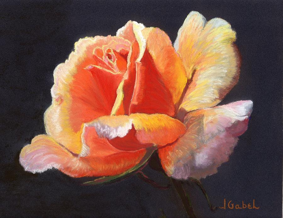 Pastel Pastel - Leslas Rose by Laura Gabel