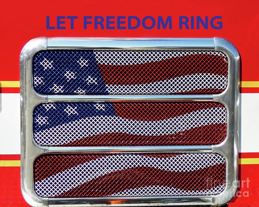 Let Freedom Ring Poster 300 Photograph