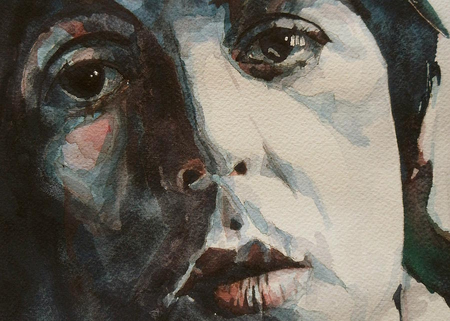 The Beatles Painting - Let Me Roll It - Paul Mccartney - Resize Crop by Paul Lovering