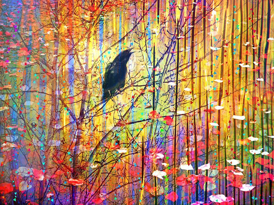 Tree Digital Art - Let Us Sing In Love by Tara Turner