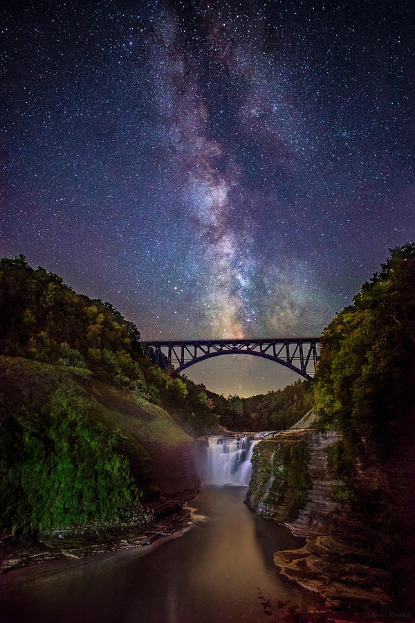 Letchworth Milky Way by Mark Papke