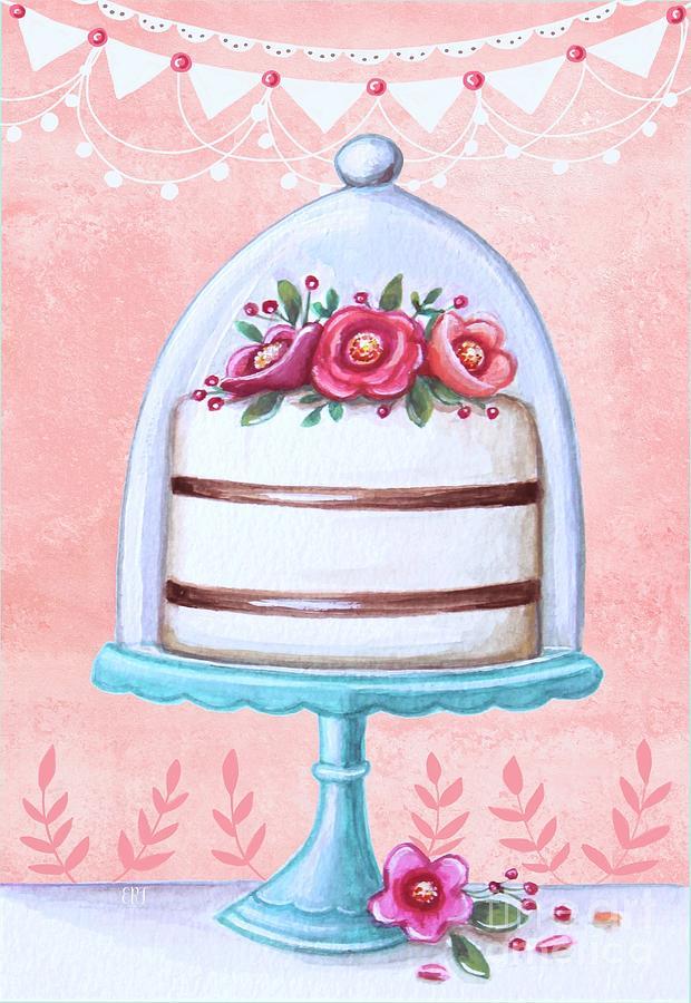 Let's Eat Cake by Elizabeth Robinette Tyndall