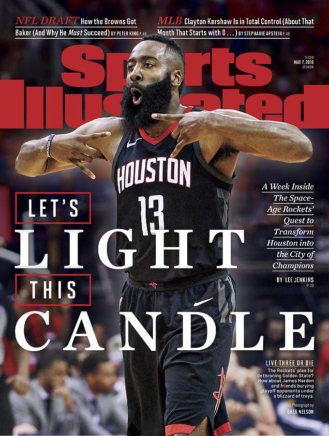 Lets Light This Candle Sports Illustrated Cover Photograph by Sports Illustrated