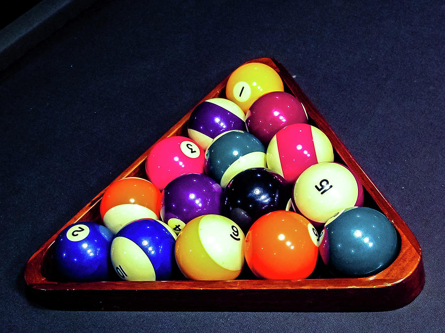 Billiards Photograph - Lets Play Pool by Laura Smith