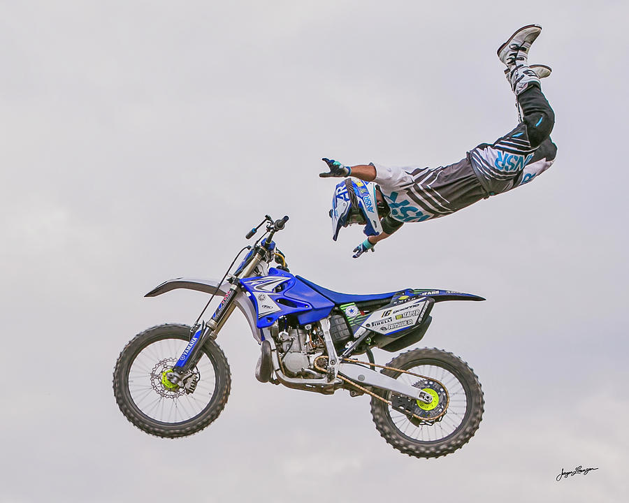 Motor Sports Photograph - Letting Go by Jurgen Lorenzen