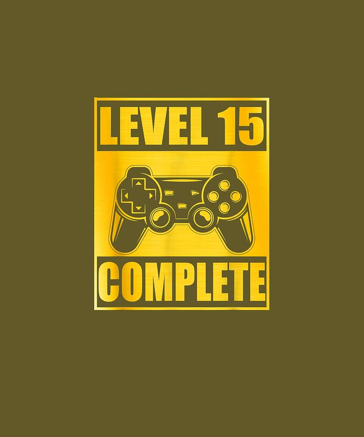 15th Wedding Anniversary.Level 15 Complete Shirt 15th Wedding Anniversary Gift Couple
