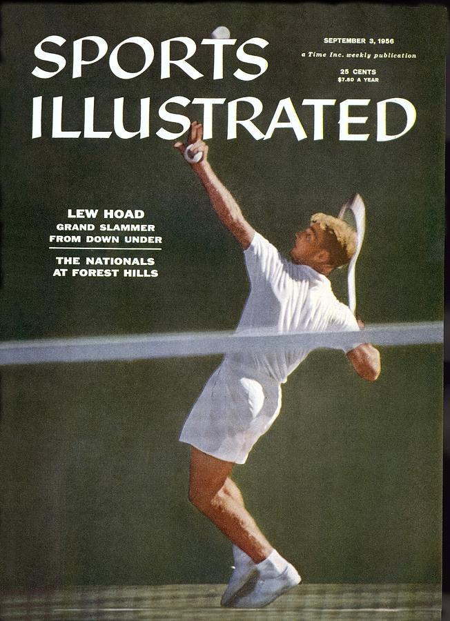 Lew Hoad, Tennis Sports Illustrated Cover Photograph by Sports Illustrated