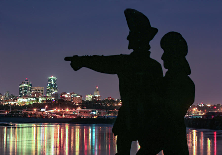 Lewis And Clark In Kansas City Photograph