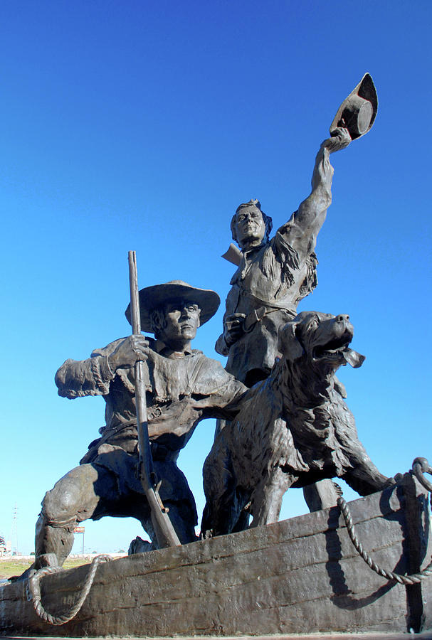 Lewis and Clark sculpture by Richard Gibb