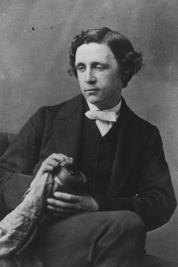 Lewis Carroll Photograph by Oscar Gustav Rejlander