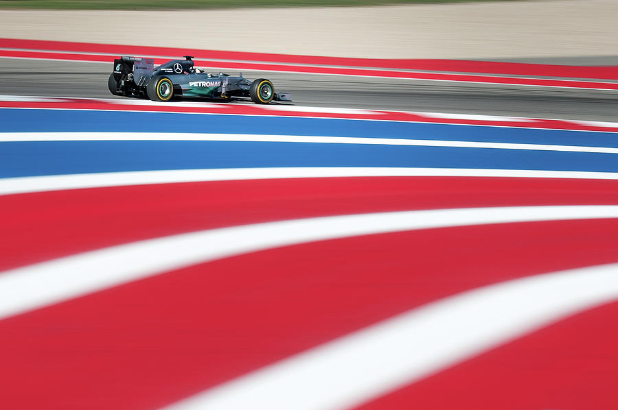 Lewis Hamilton, US Grand Prix 2014 by Dave Wilson