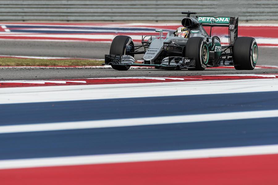 Lewis Hamilton, USGP 2016 by Dave Wilson