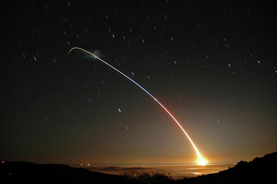 LGM-118A Peacekeeper missile launch July 21 2004 by Brian Lockett
