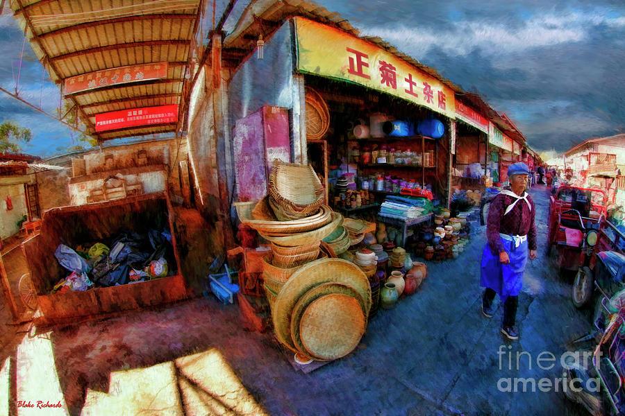 Li Jiang Chinese Farmers Market by Blake Richards