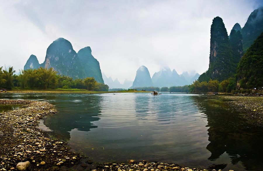Li River Of Guilin Photograph by Zhouyousifang