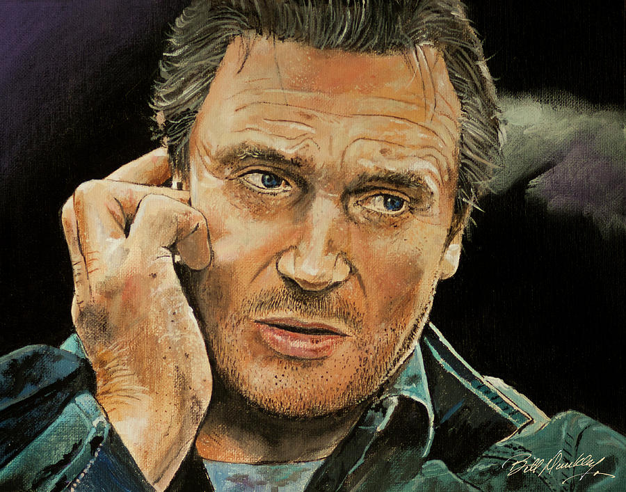 Liam Neeson by Bill Dunkley