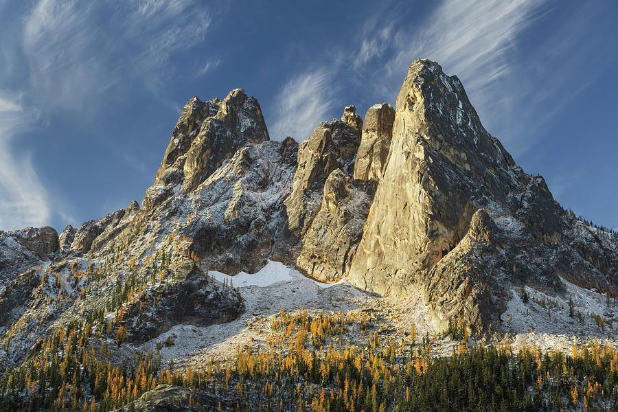 Washington Photograph - Liberty Bell Mountain II by Alan Majchrowicz